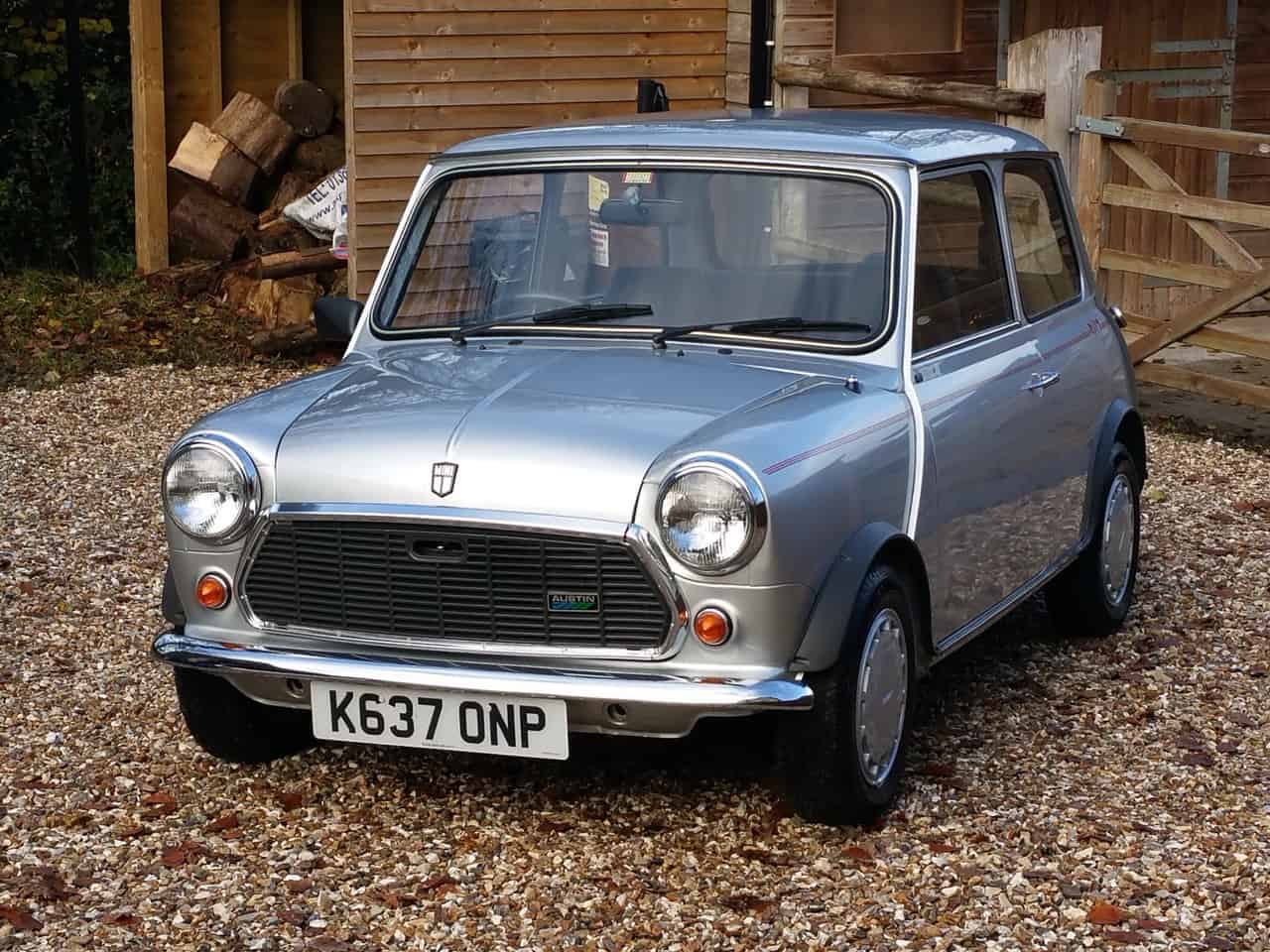 ** NOW SOLD ** Amazing 'Time Warp' Austin Mini Ritz On Just 3820 Miles In 35 Years!!