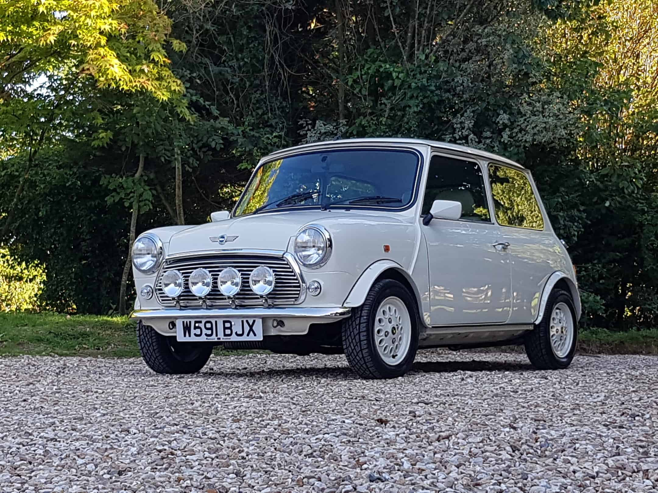 ** NOW SOLD ** Rare Old English White Mini Seven On 12500 Miles.