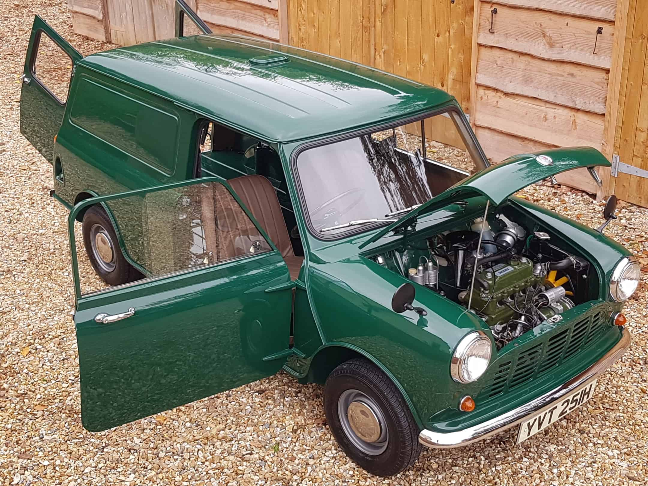 ** NOW SOLD ** Unique 1969 Morris Mini Van On 17800 Miles From New!!