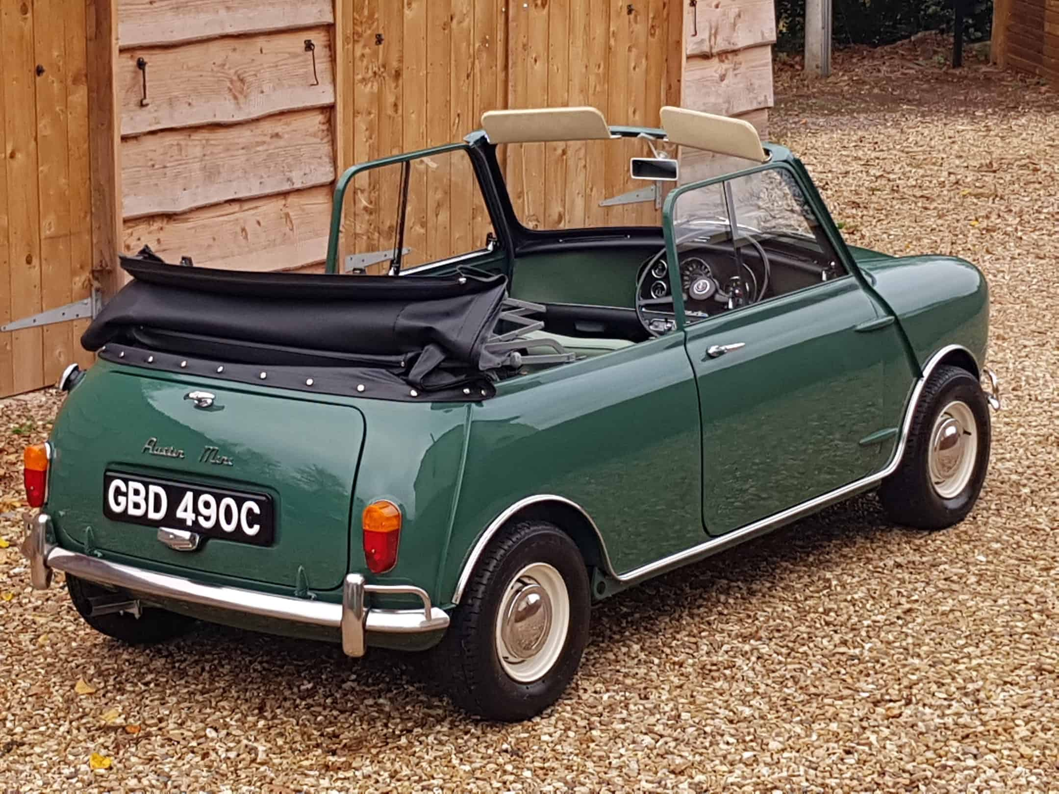 ** NOW SOLD ** Very Rare And Special 1965 Mini Crayford Convertible