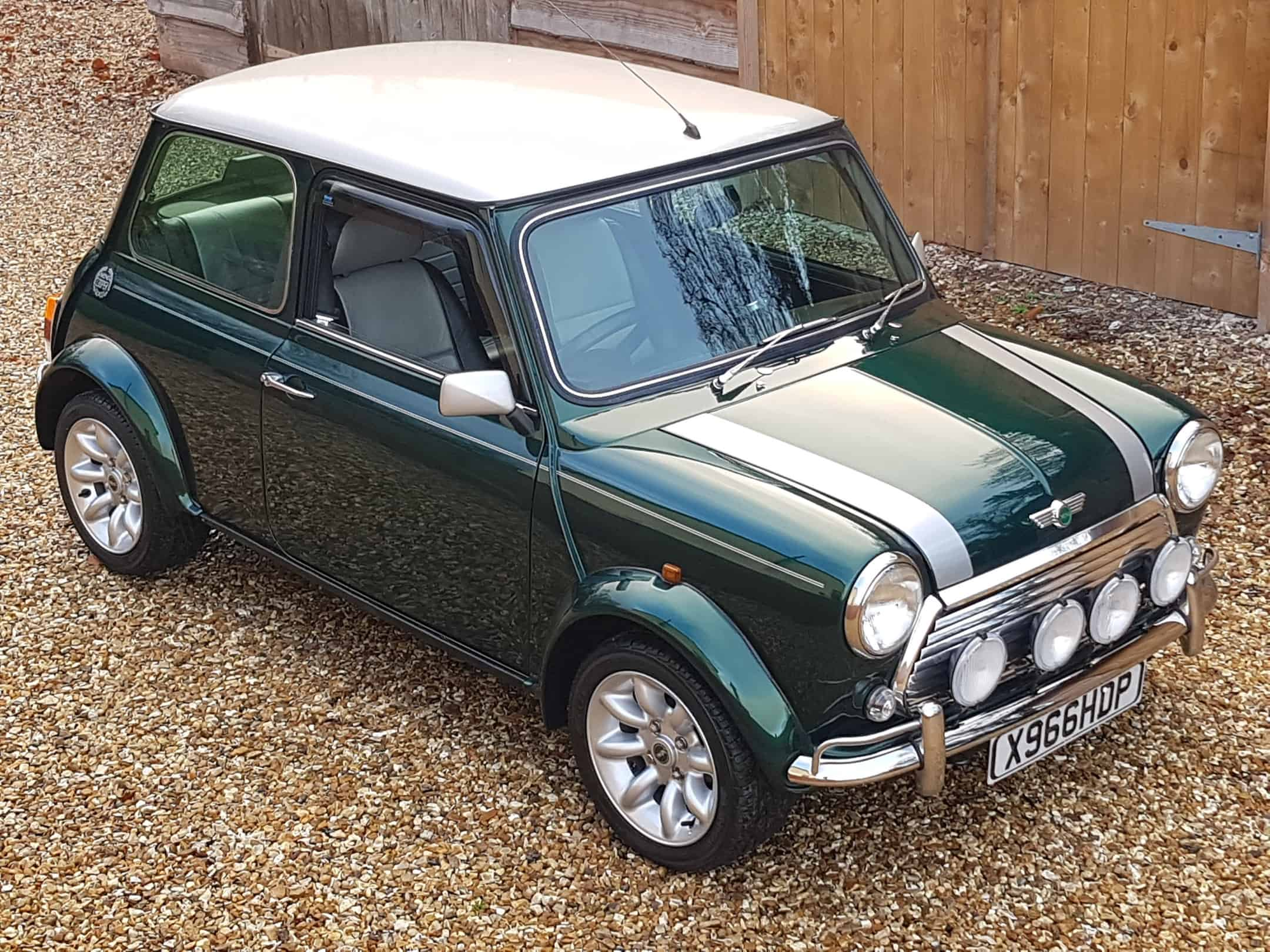2000 Rover Mini Cooper Sport On Just 31200 Miles From New