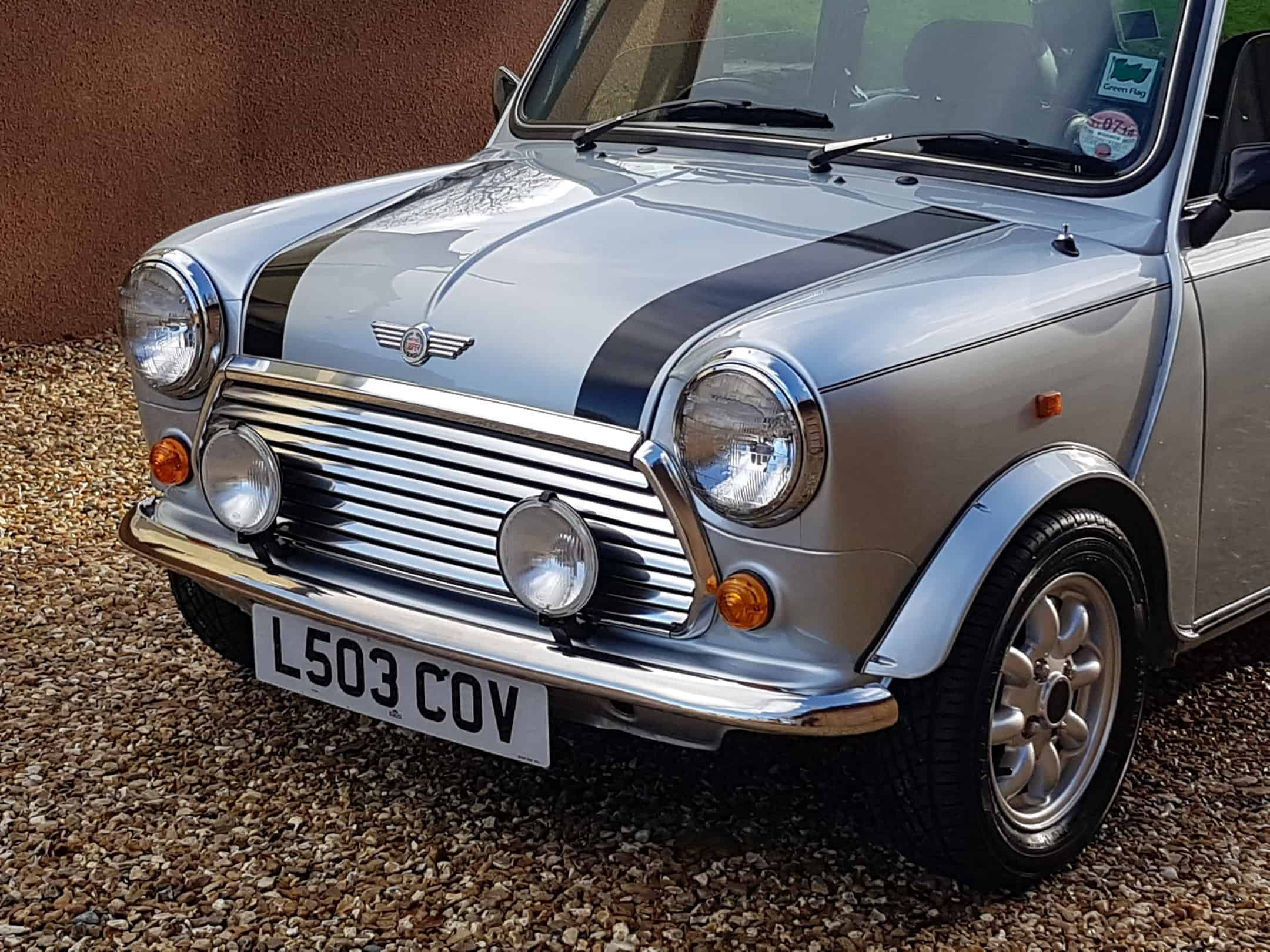 ** NOW SOLD ** 1993 Rover Mini Cooper In Quicksilver On 14900 Miles From New