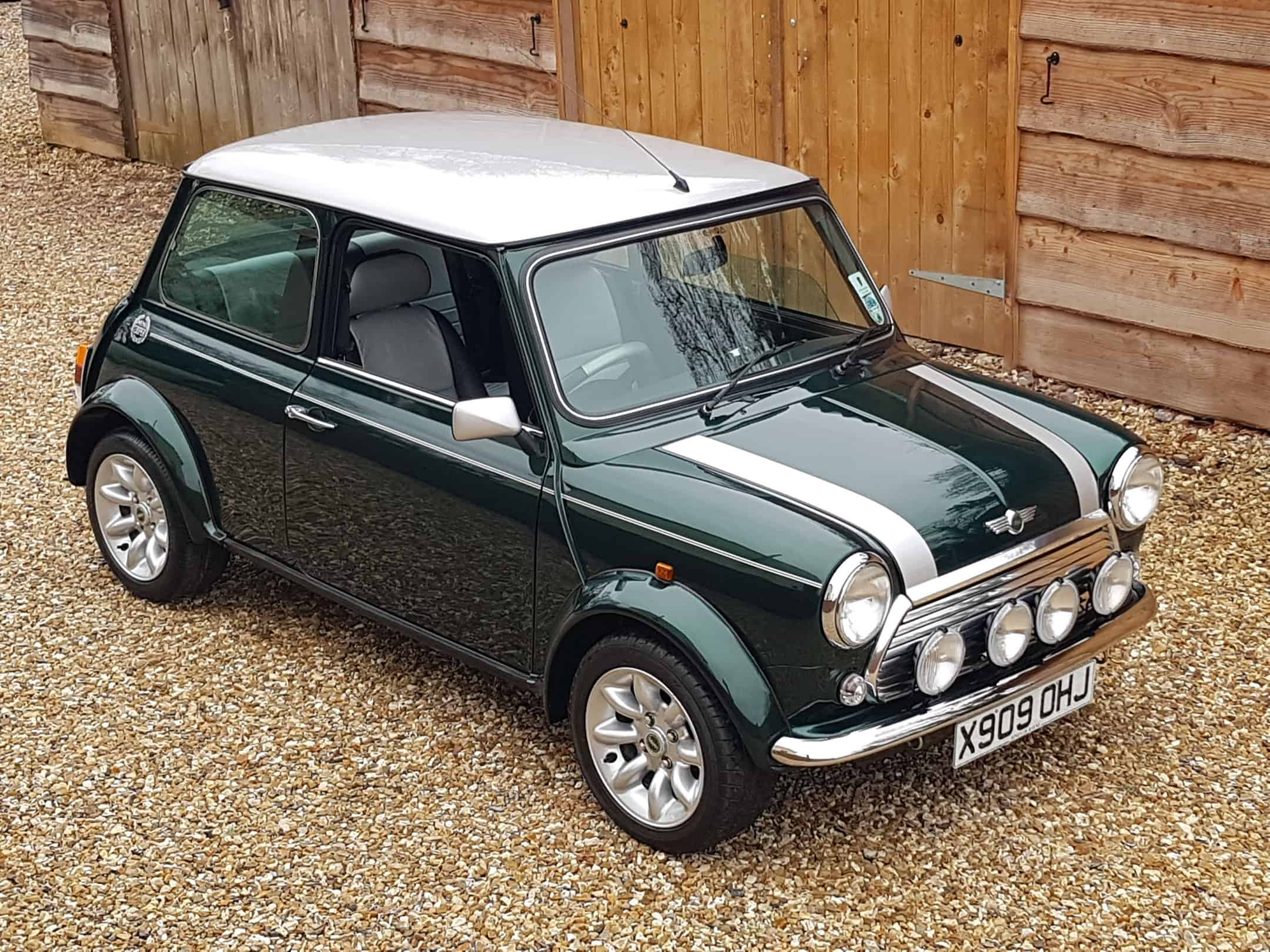 ** NOW SOLD ** Stunning 2000 Cooper Sport On Just 4650 Miles From New.