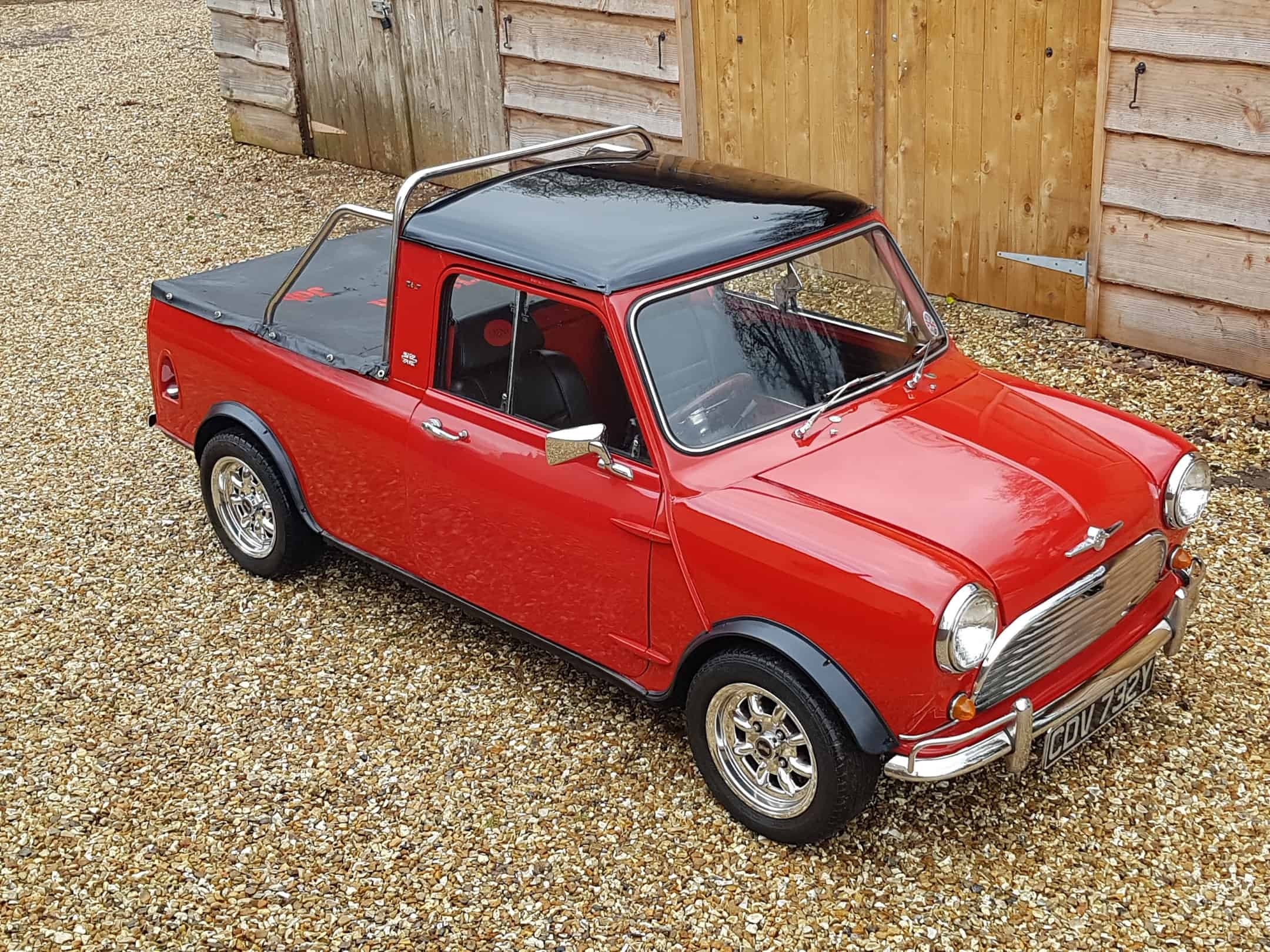 ** NOW SOLD ** Austin Mini Pick-Up Restoration Project.