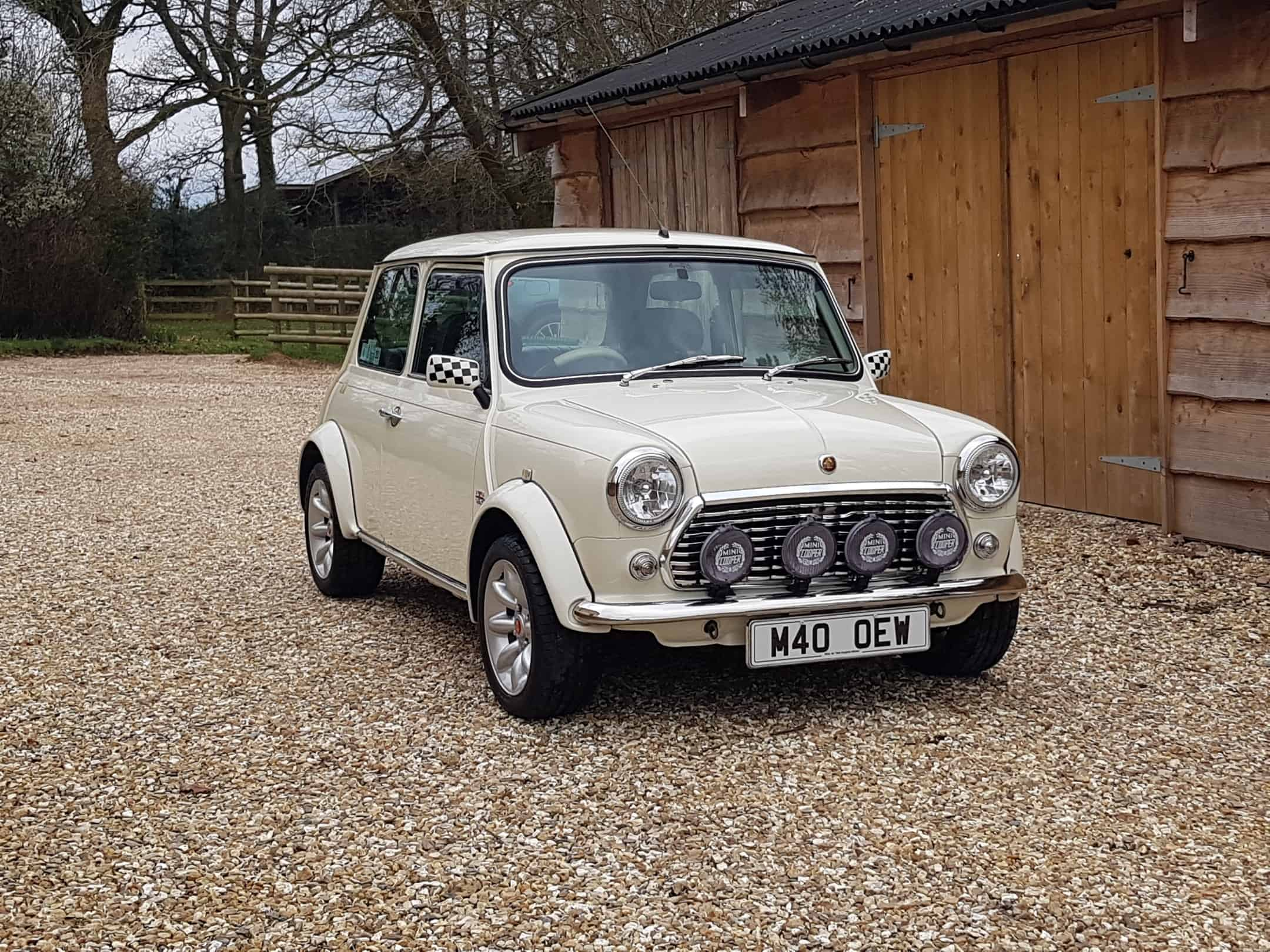 ** NOW SOLD ** Very Rare Mini Cooper 40 LE In Old English White On Just 25900 Miles From New