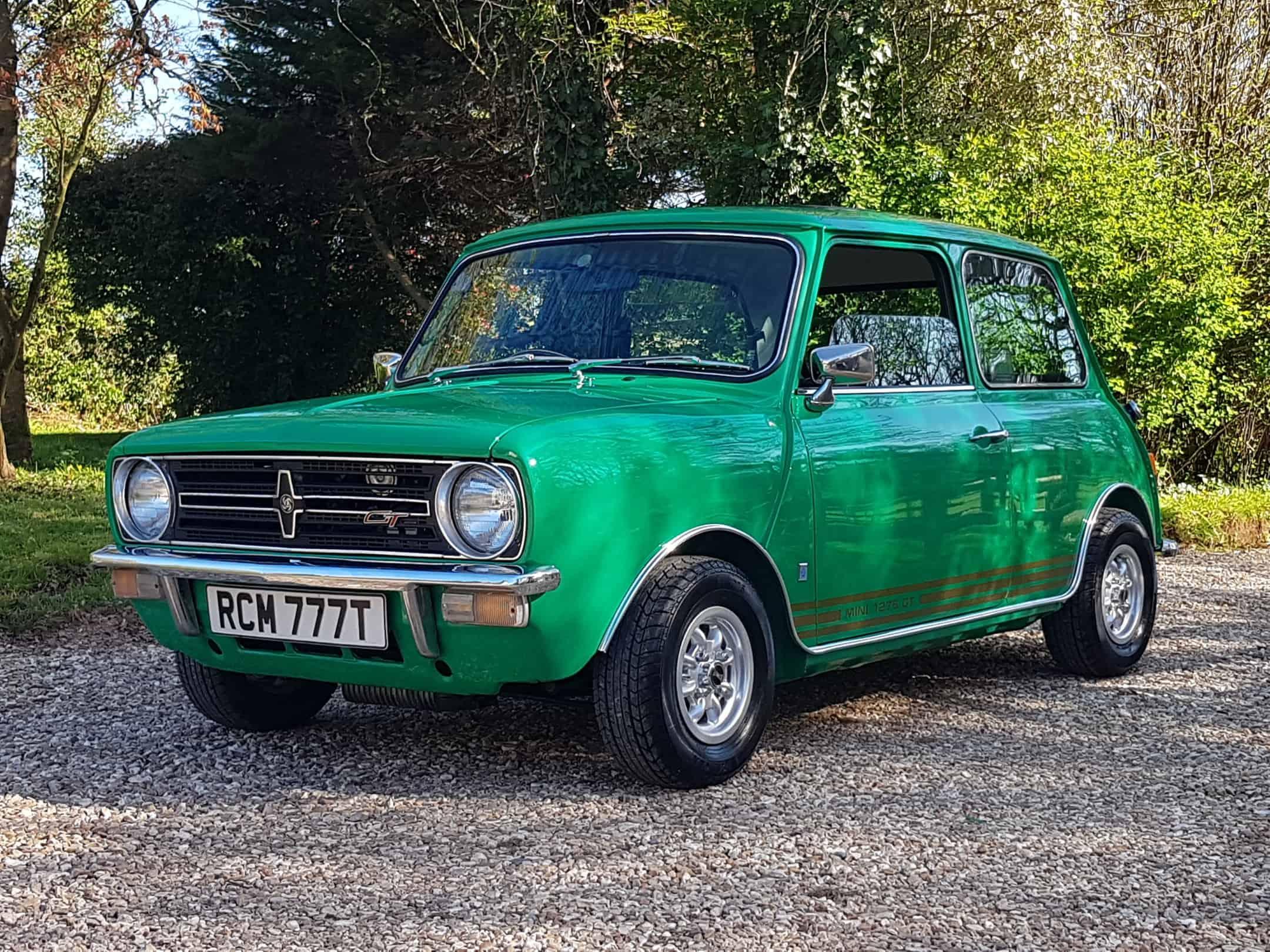 1979 Mini 1275 GT In Rare Java Green.