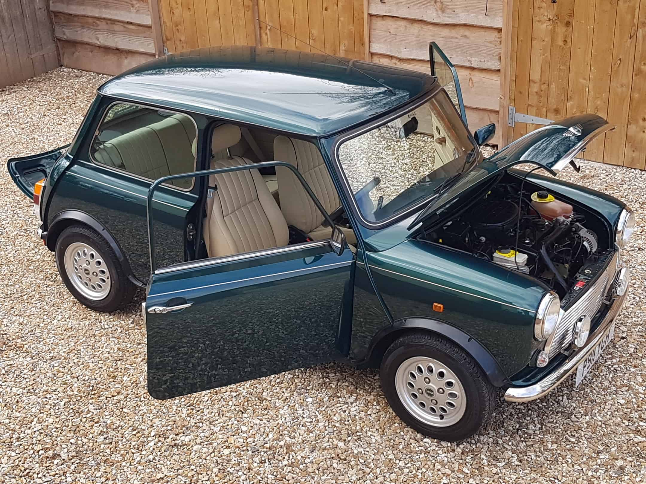 ** NOW SOLD ** Rover Mini 1.3 MPI On Just 7600 Miles From New!!