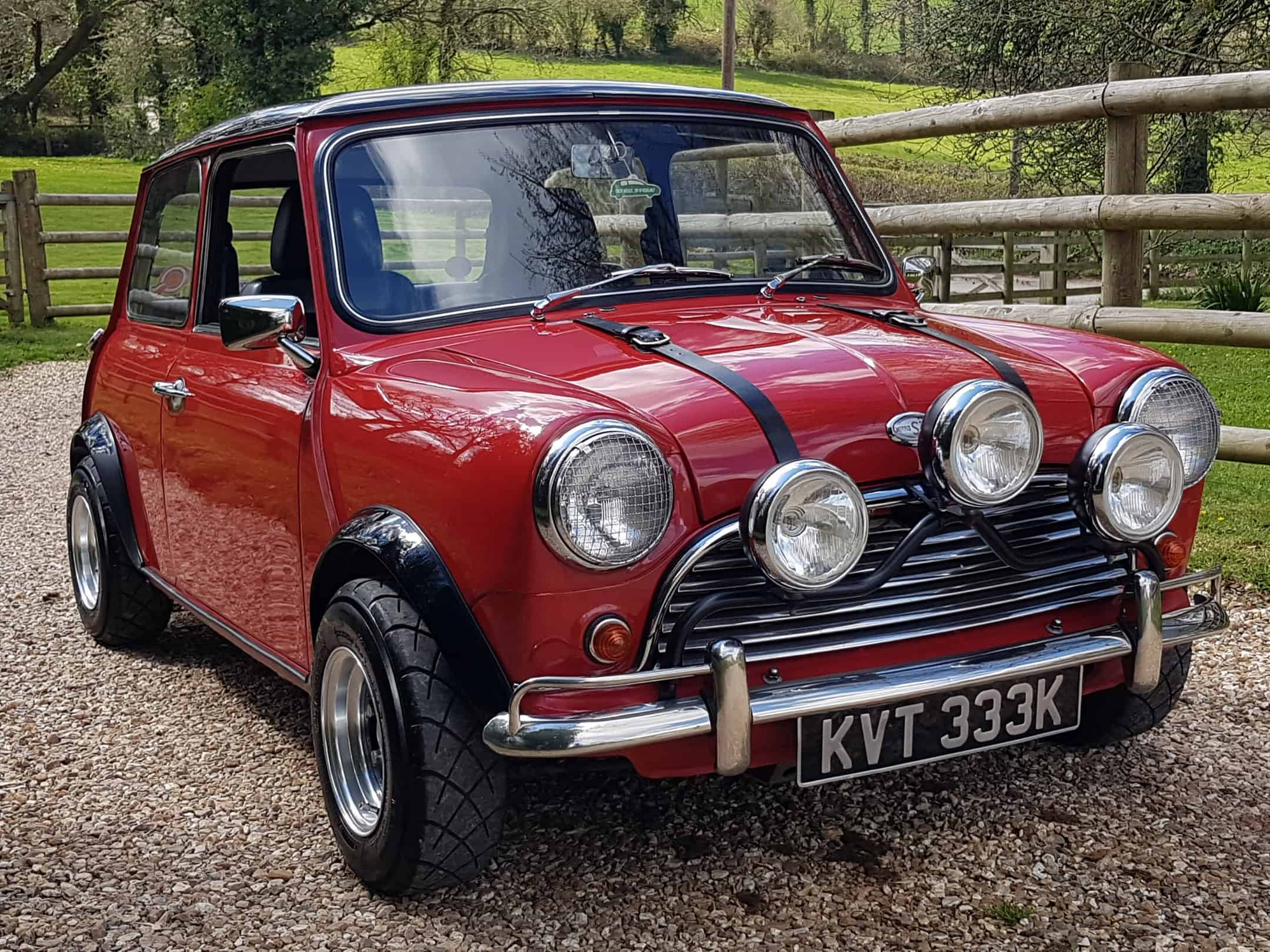 ** NOW SOLD ** 1971 Morris Mini 1275 cc Injection.