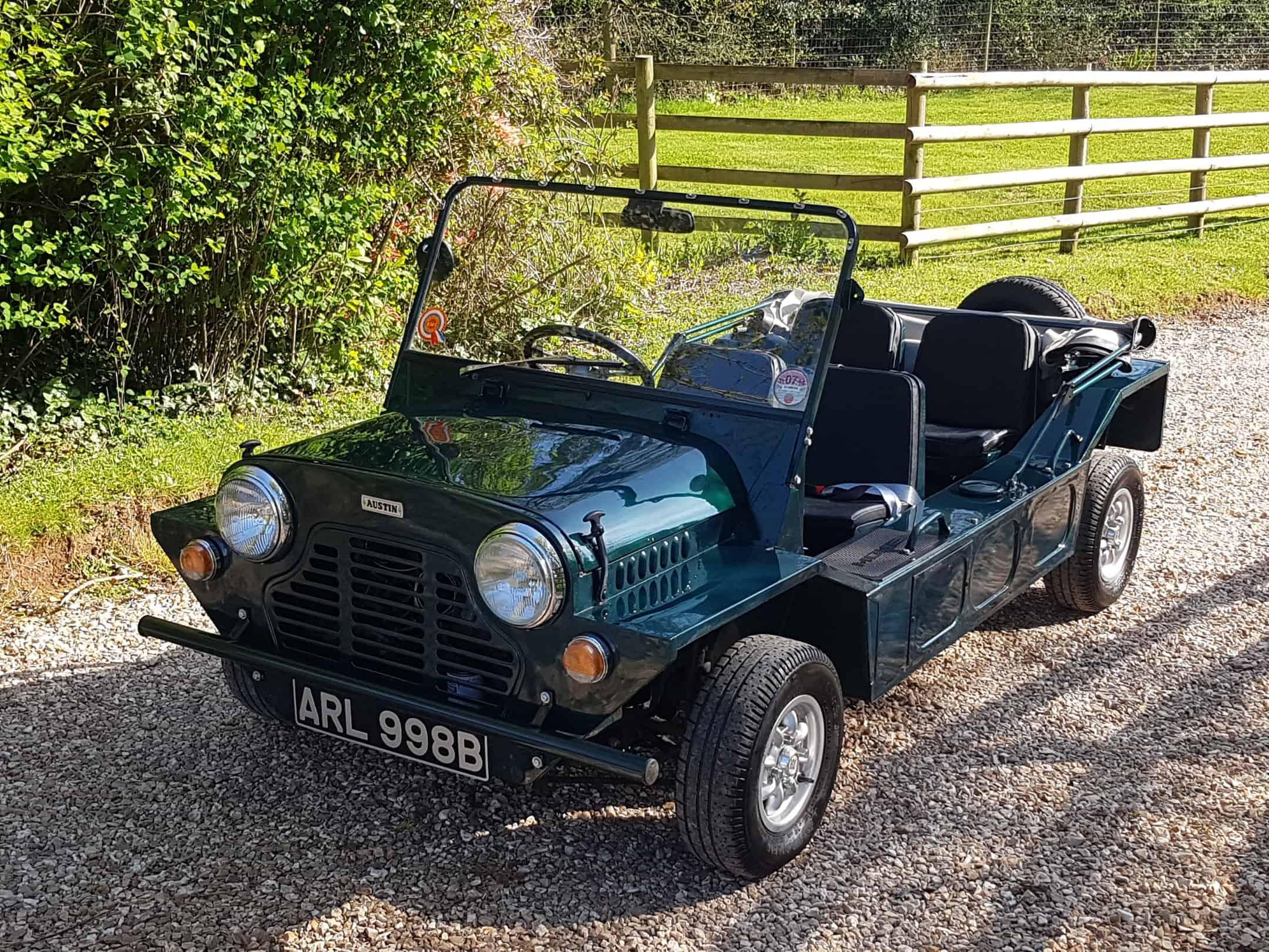 ** NOW SOLD  ** Very Early 1964 B Austin Mini Moke