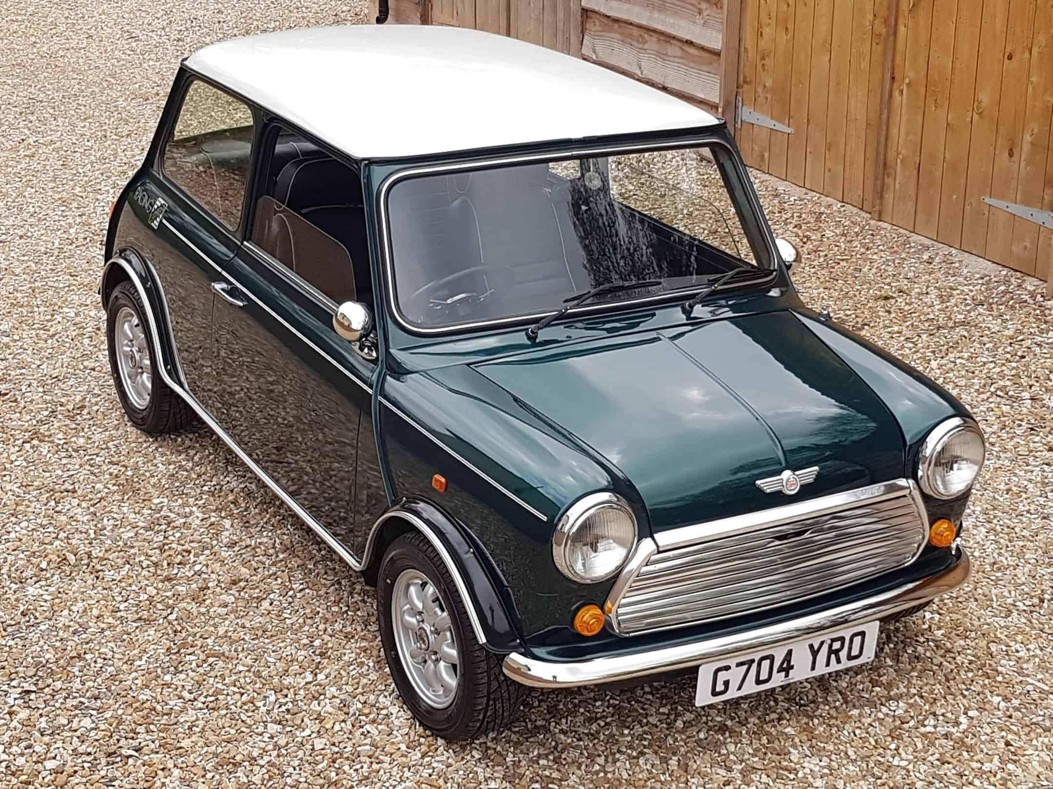 "** NOW SOLD ** 1990 Mini Racing Green LTD Edition 'John Cooper""."