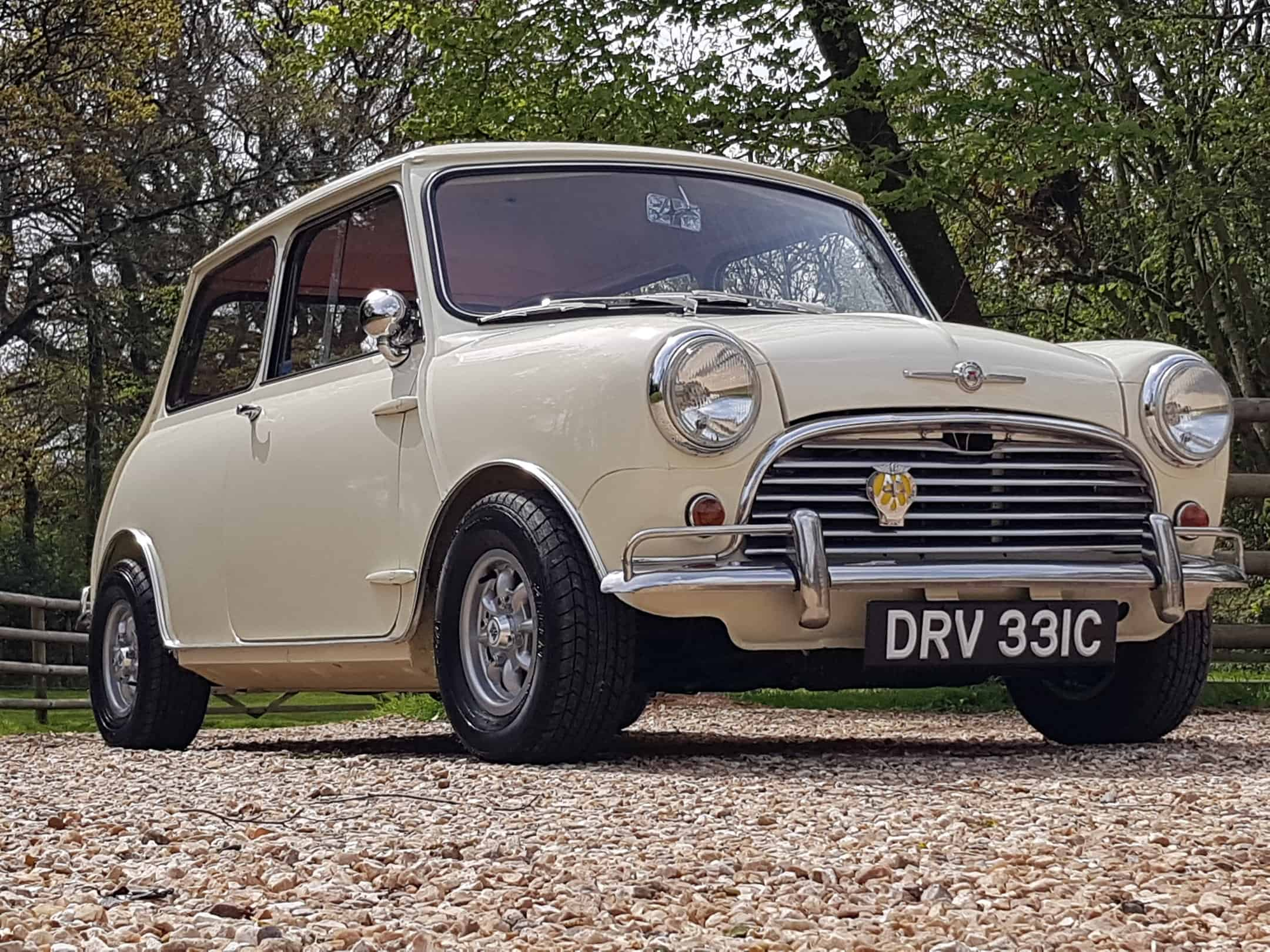 ** COMING SOON ** 1965 Morris Mini Mk1 In Old English White