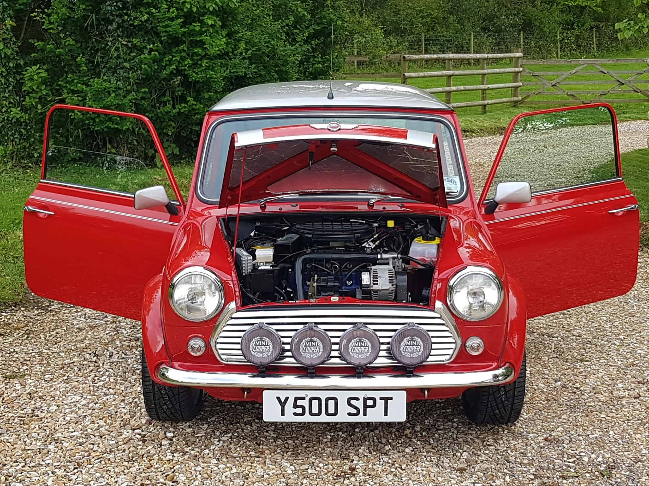 ** DEPOSIT PAID ** Mini Cooper Sport 500 S Works By John Cooper Garages On 1990 Miles From New !