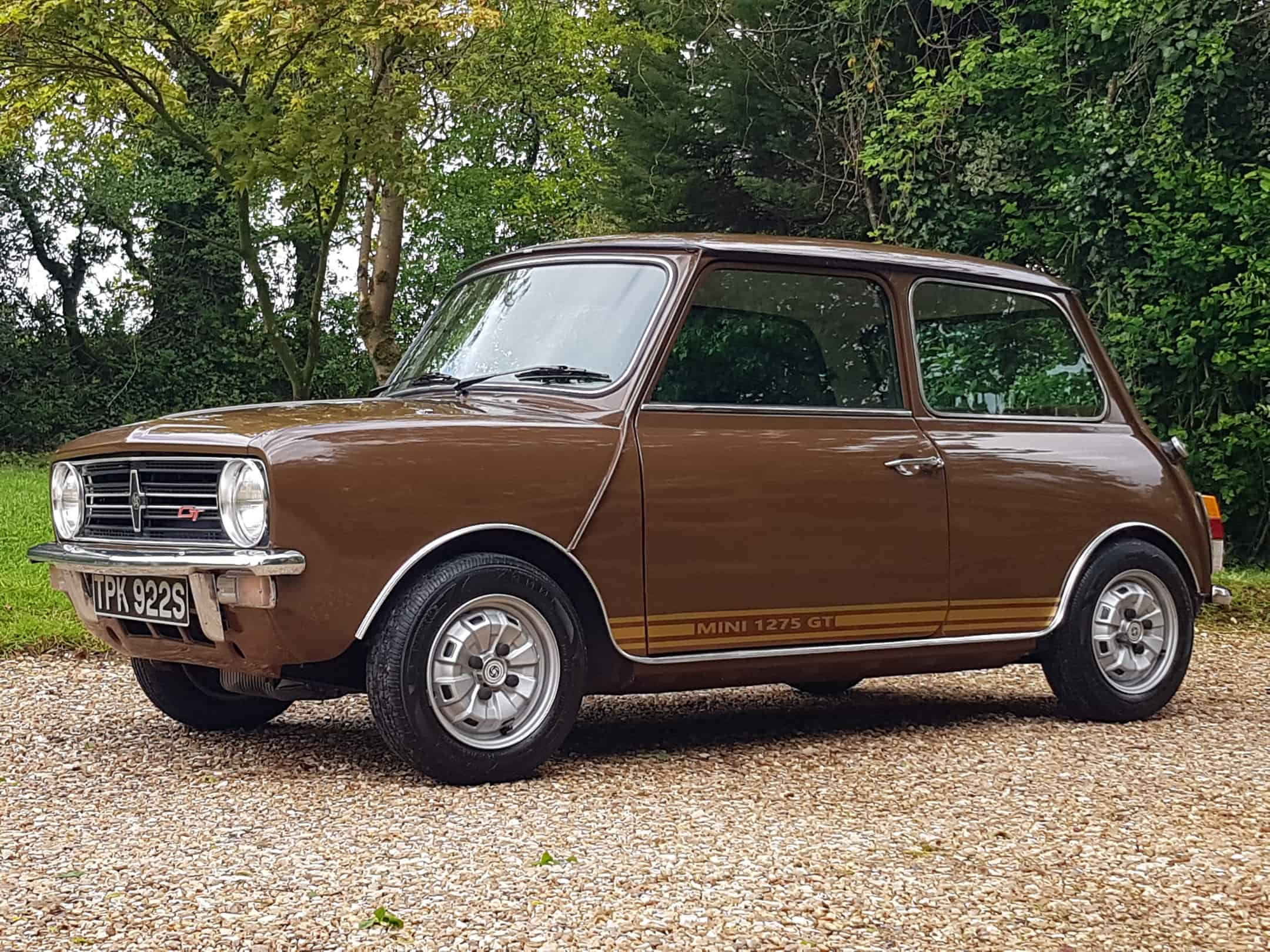 ** NOW SOLD ** 1977 Mini 1275 GT In Classic Russet Brown