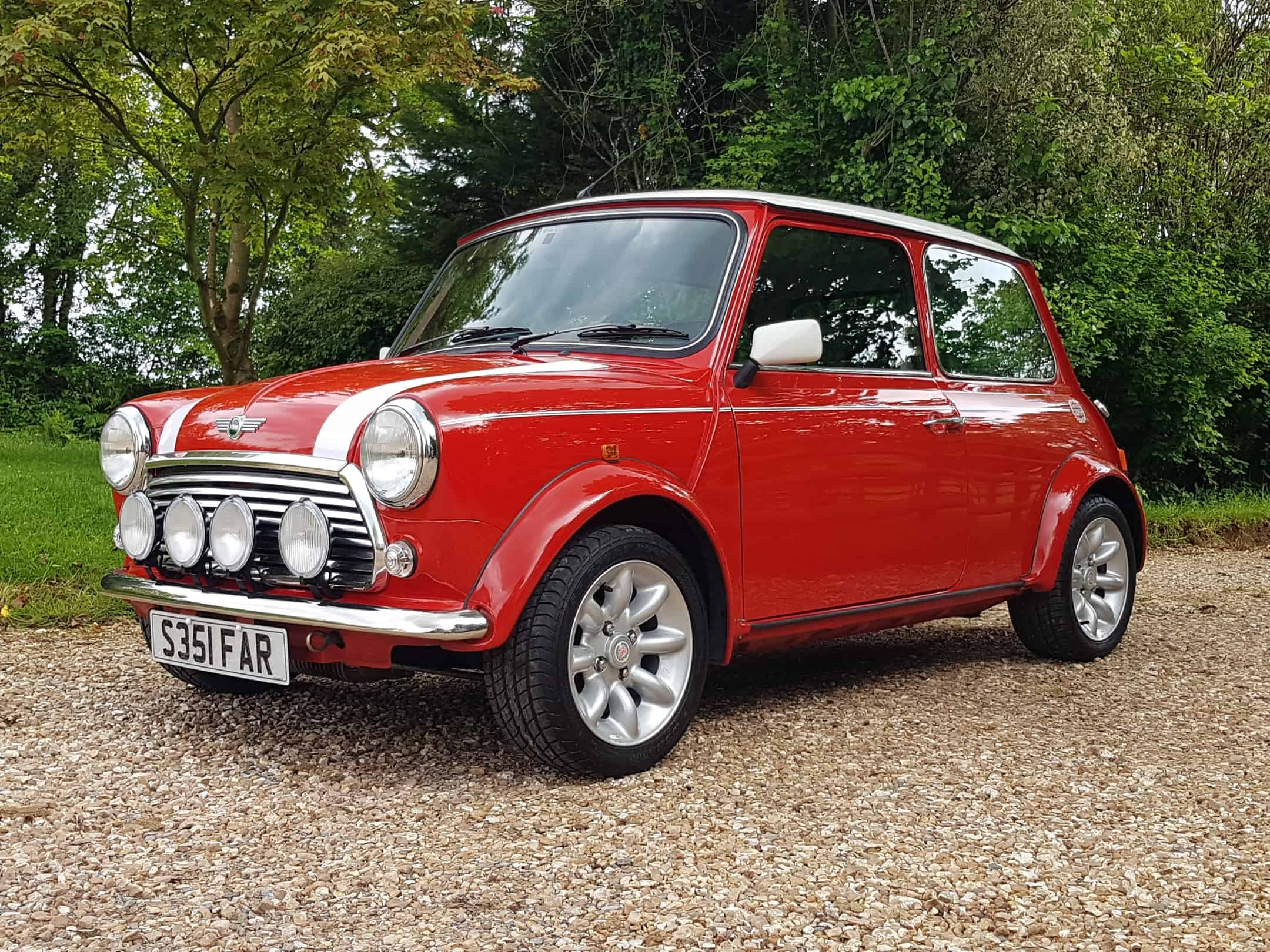 ** NOW SOLD ** 1998 Rover Mini Cooper Sport On Just 14360 Miles From New!!