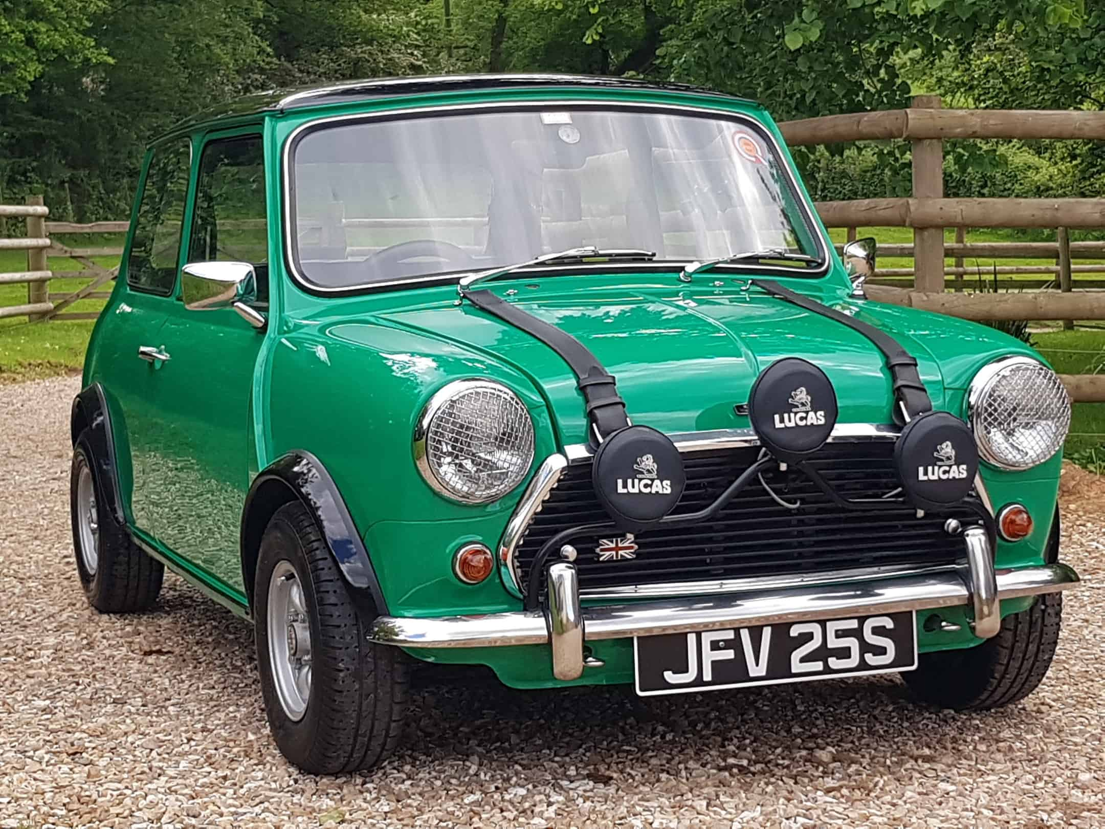 ** NOW SOLD ** 1978 Mini 1293 cc Fast Road Specification In Stunning Java Green.