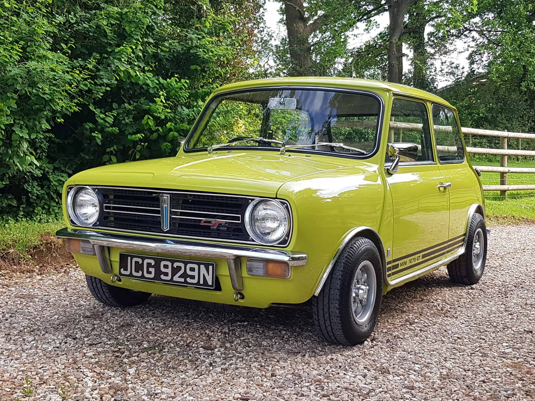 ** NOW SOLD ** Outstanding 1975 Morris Mini 1275 GT In Rare Citron Yellow!