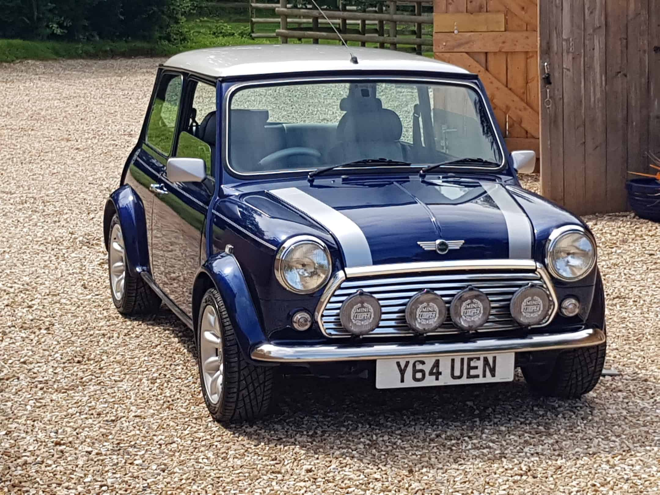 ** NOW SOLD ** 2001 Y Rover Mini Cooper Sport In Tahiti Blue On Just 45400 Miles From New.