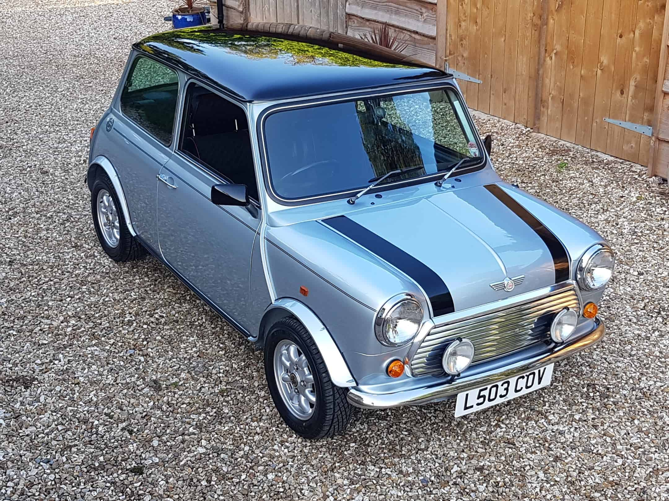 1993 Rover Mini Cooper In Rare Quicksilver On Just 14900 Miles From New!