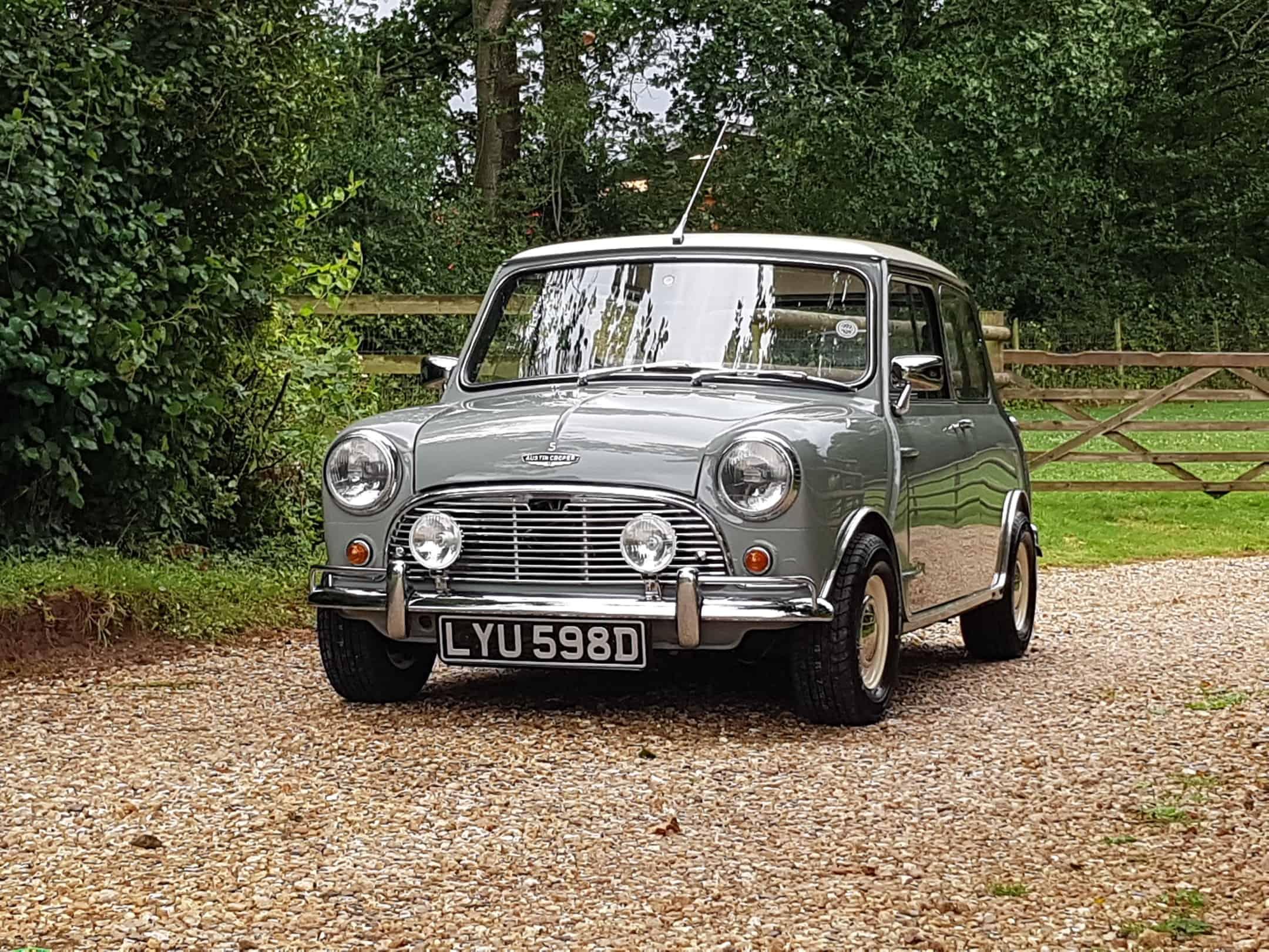 ** NOW SOLD ** 1966 Austin Mini 998 Cooper In Tweed Grey