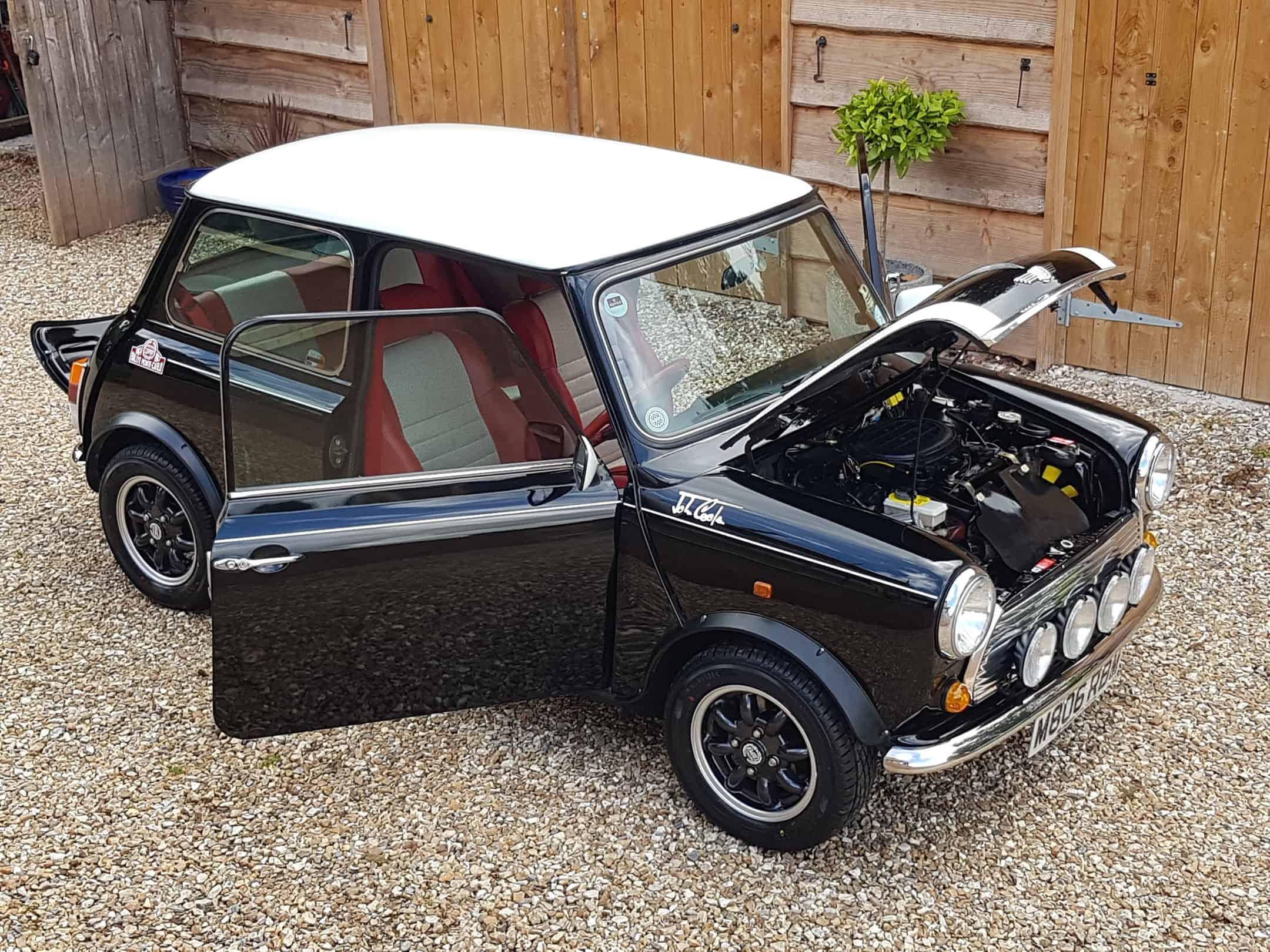 ** NOW SOLD  ** Super Rare And Collectable Black Mini Cooper Monte Carlo