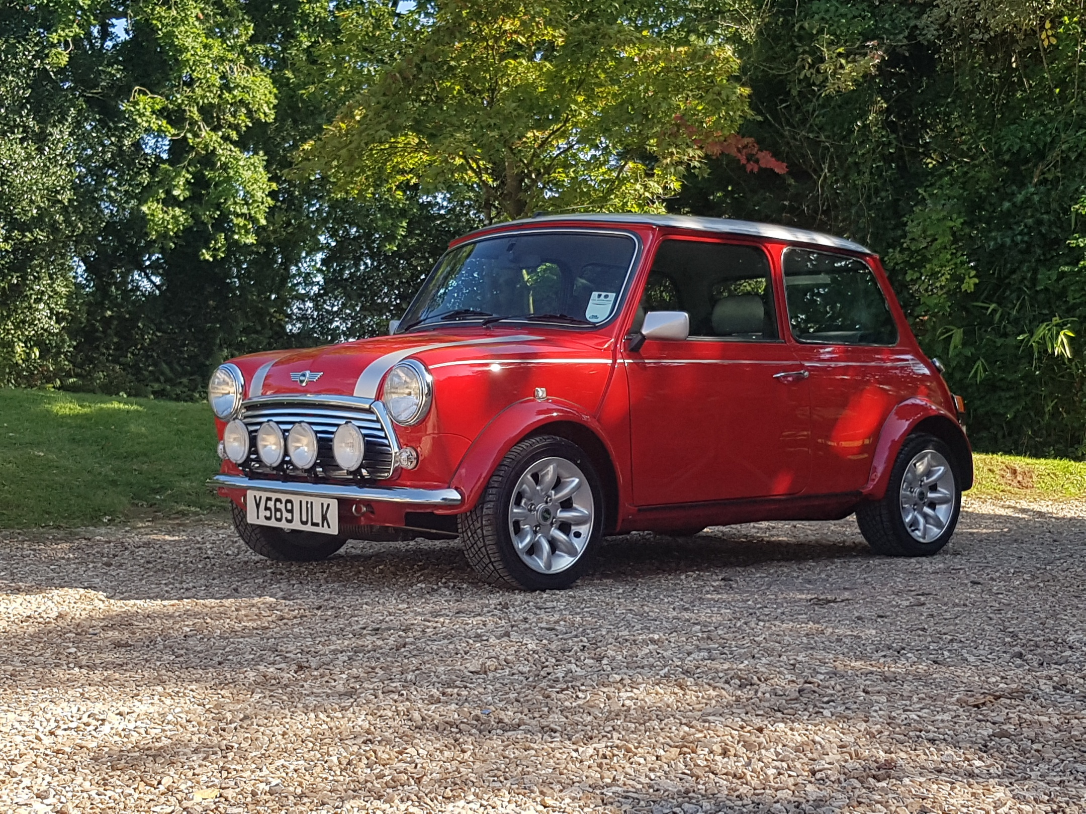 ** NOW SOLD ** 2001 Y Rover Mini Cooper Sport 500 In Solar Red.