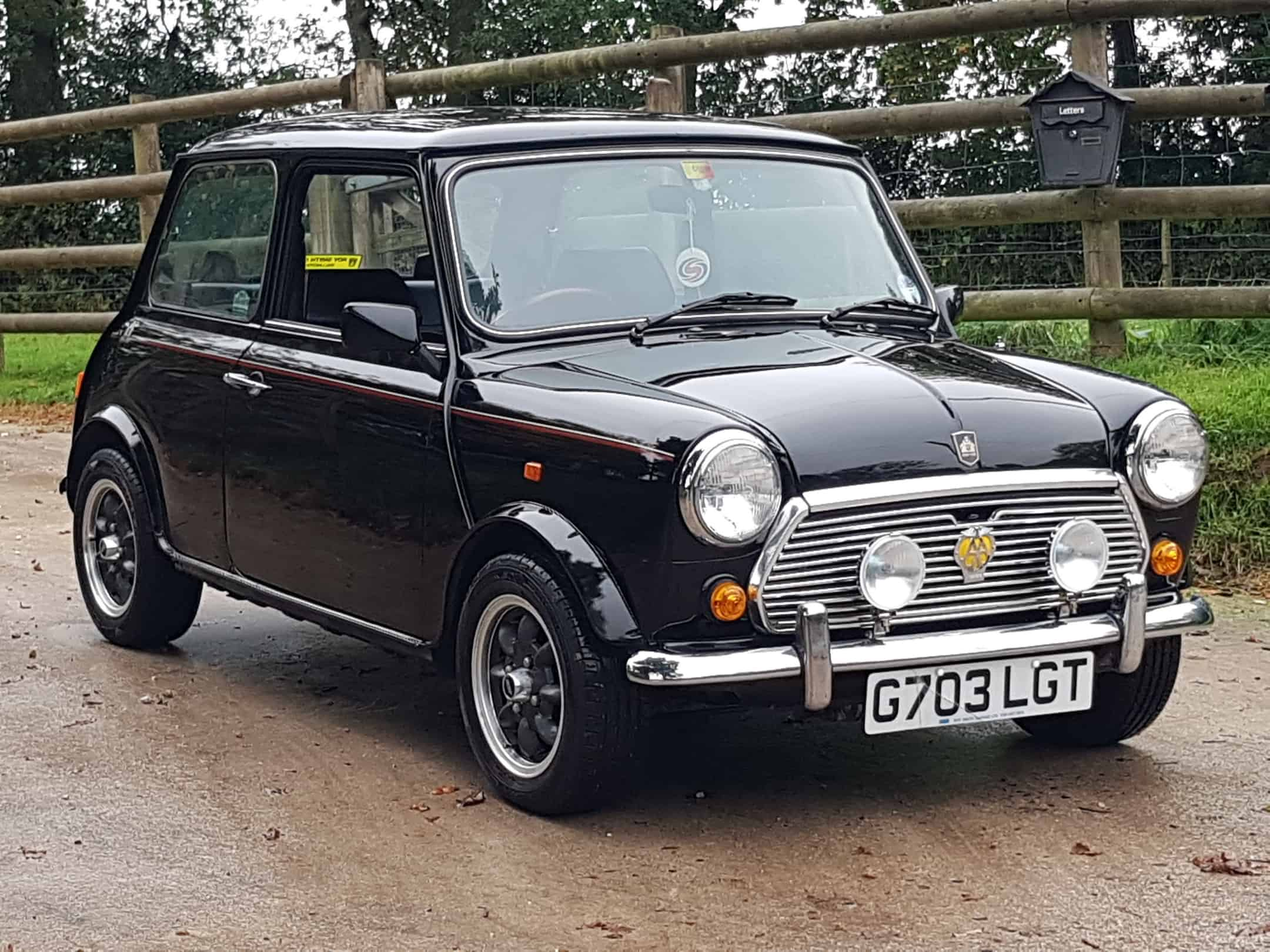 1989 Austin Mini 30 LE In Rare Black On Just 10570 Miles in 32 Years!